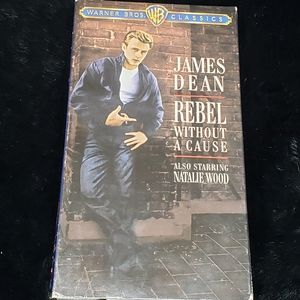 James Dean a Rebel Without a Cause VHS